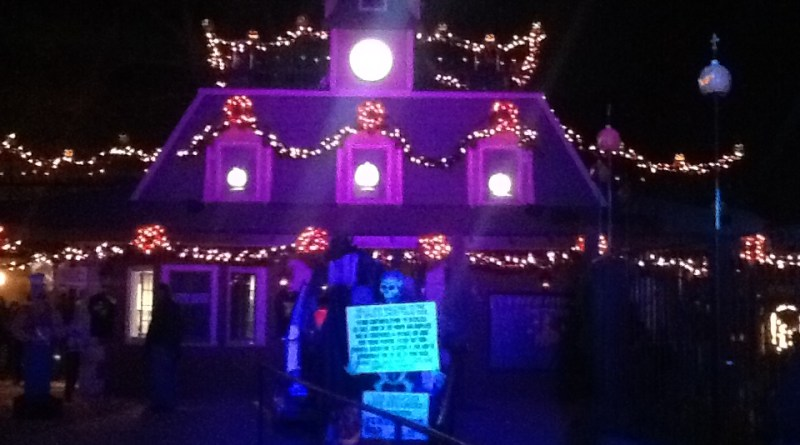 Los Angels Live Steamers Ghost Train 2014: Entrance