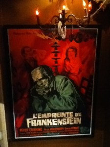 The Hollywood Museum: The Evil of Frankenstein poster