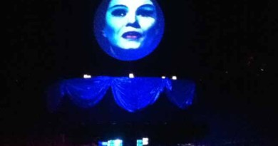 Los Angeles Live Steamers Ghost Train 2014: Madame Leota horizontal