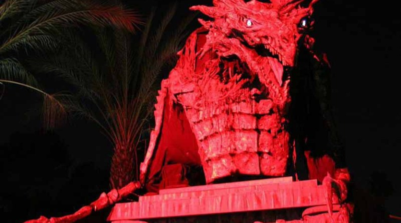 Night of the Living Zoo Dragon crop