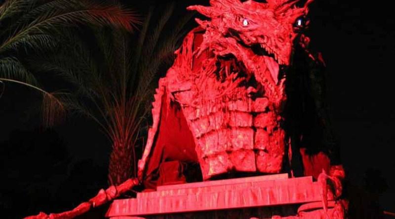Night of the Living Zoo Dragon crop