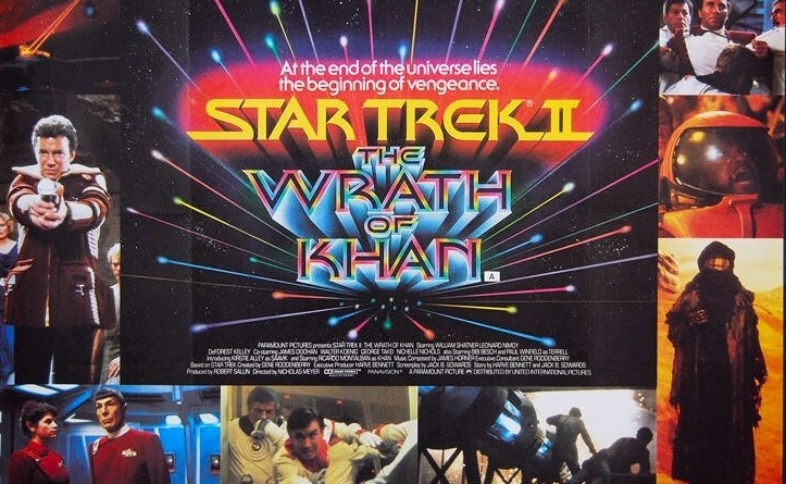 Star Trek II poster