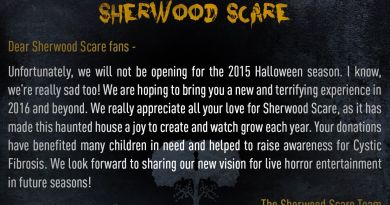 Sherwood Scare 2015 announcement