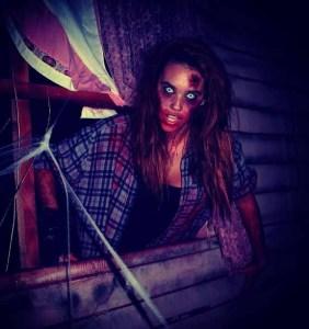 Blackthorne Haunt 2012 Wendigo theme female monster