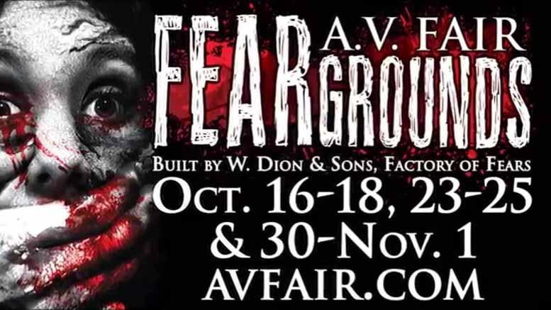 AV Fair FEARGrounds ad
