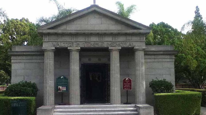 Walter P. Temple Mausoleum at Homestead Museum