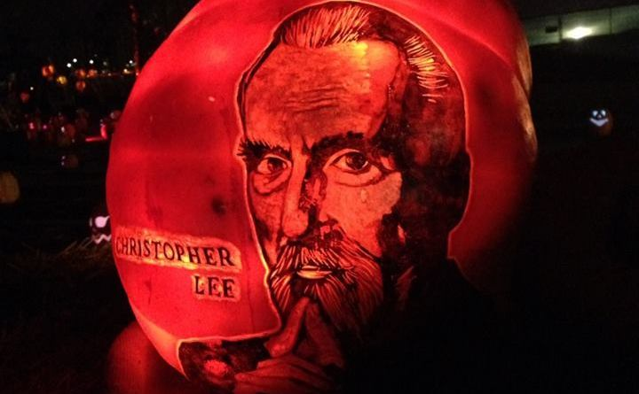 Rise of the Jack O'Lanterns 2015 christopher lee