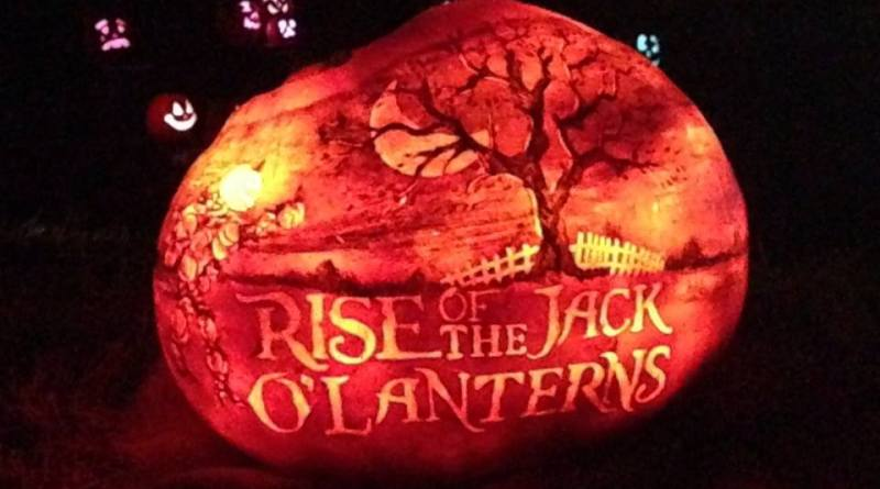 Rise of the Jack O'Lanterns 2015 title pumpkin 2 horizontal