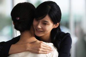 """Seo-Yeon (Ye-ryeon Cha) is incredibly happy to see the """"friend"""" who betrayed her."""