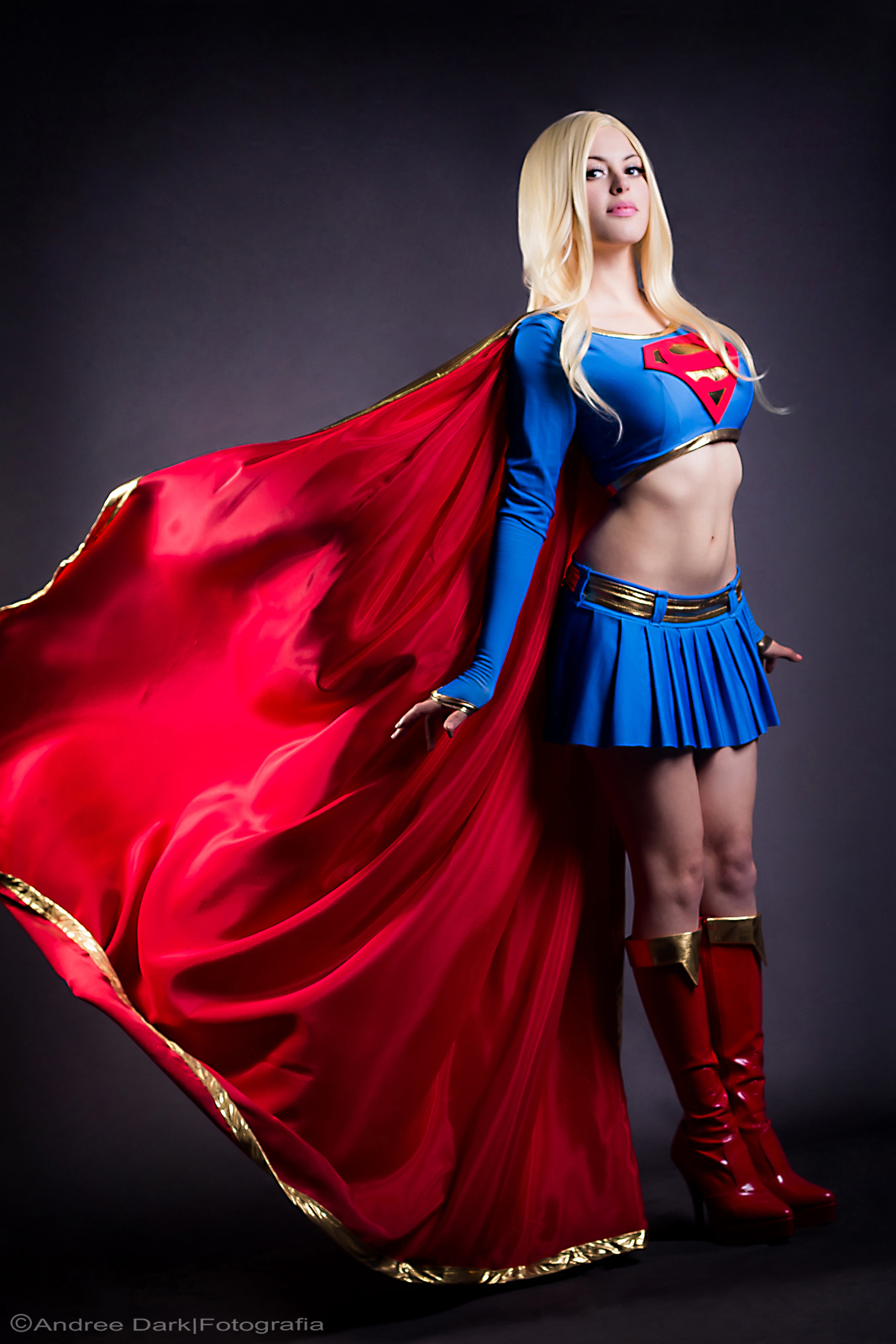 3d Superwoman Wallpaper Super Girl Nadyasonika