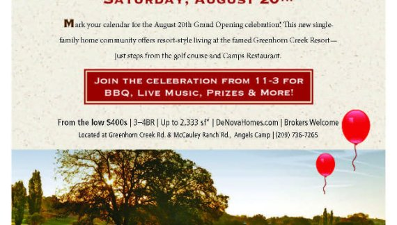 There's a New Neighborhood in the Neighborhood!  The Gallery At Greenhorn Creek Opens Today!!!