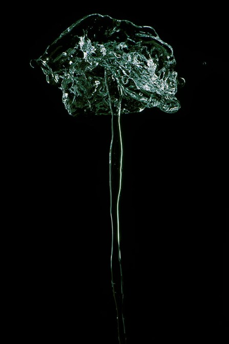 Vertical Water 3 ca.150X75cm