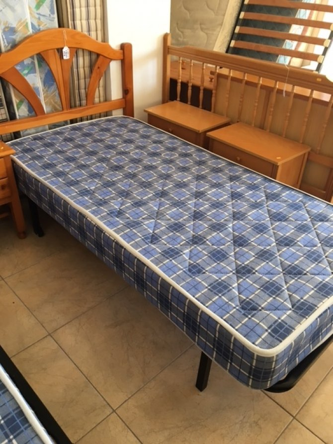 Bed 120 X 190 New2you Furniture | Second Hand Beds For The Bedroom (ref