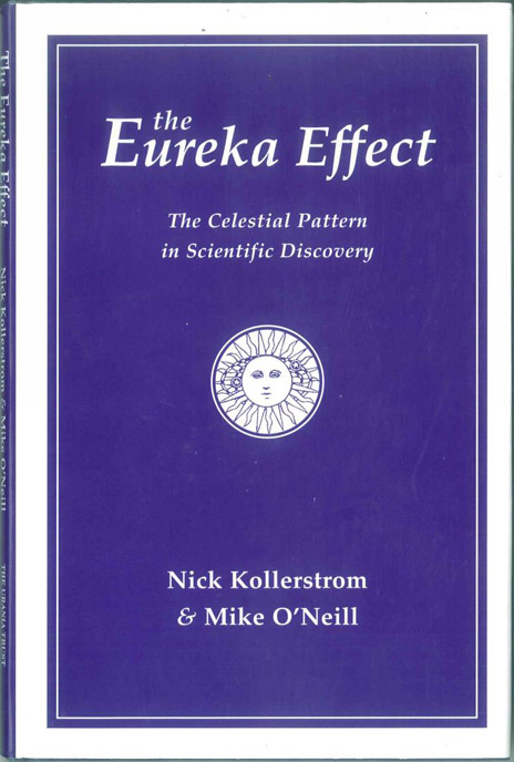 Eureka! The celestial pattern in moments of scientific inspiration