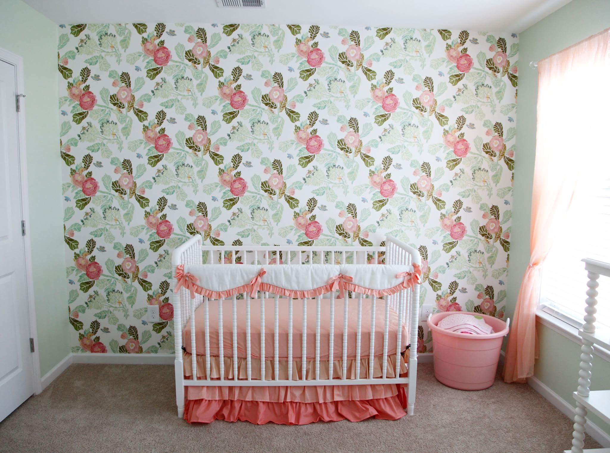 Nursery Themes For Girls Baby Girl Nursery Ideas Floral Nursery Inspiration Nursery