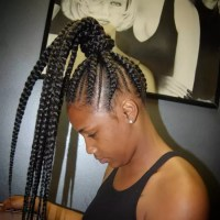 corn rows braided into a ponytail 55 gorgeous hairstyles ...