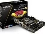 AS Rock LGA1155 DDR3 SATA3 USB3.0 Quad CrossFireX and Quad SLI A GbE ATX Motherboard Z77 EXTREME4