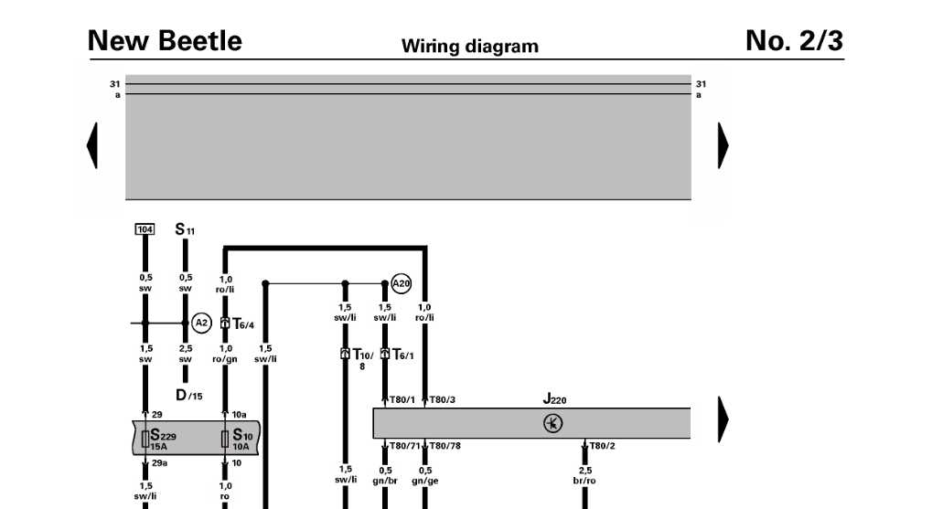 vw ignition coil wiring diagram schematics diagrams and shop