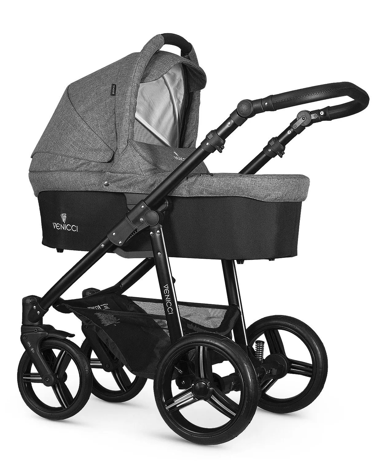 Egg Pushchair Payment Plan Venicci Soft – Denim Grey – Newbie Me