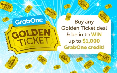 GrabOne Golden Ticket