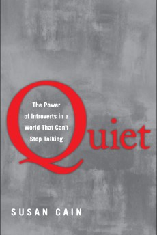 'Quiet: The Power of Introverts in a World That Can't Stop Talking' by Susan Cain