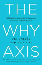 46 a summary of the why axis hidden motives and the undiscovered economics of everyday life - Freakonomics table of contents ...