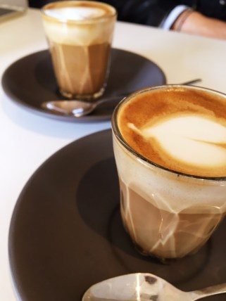 Newcastle's own Suspension coffee at Little Nel Cafe