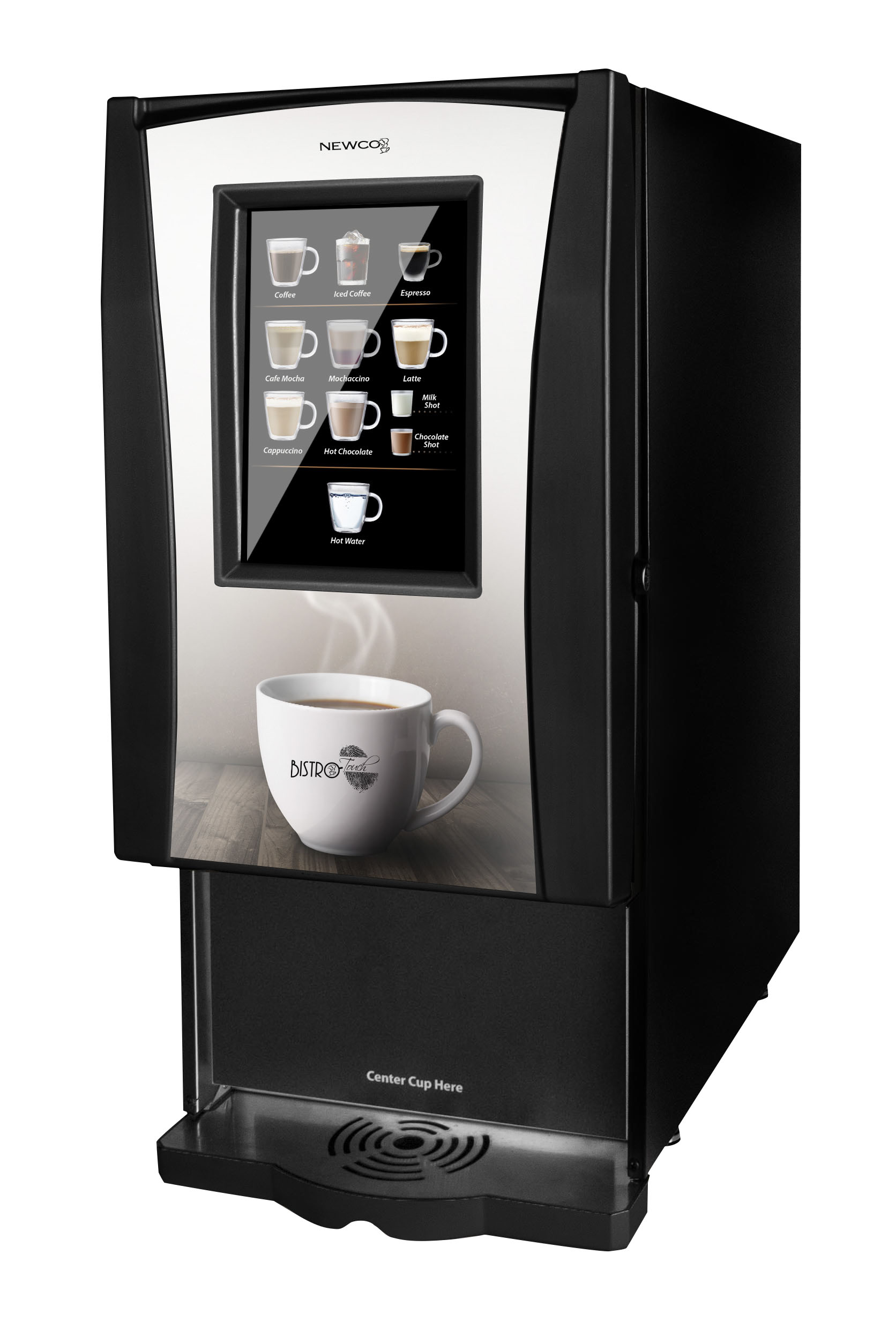 Machine A Cafe Bistro Touch Newco Liquid Specialty Coffee Machine