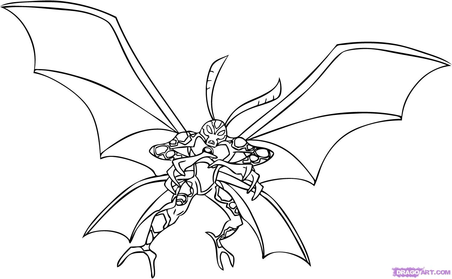 Ben 10 Alien Force Coloring Pages - Eskayalitim