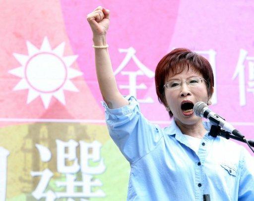 洪秀柱很早就表態要參選2016總統大選。 圖片來源:聯合新聞網