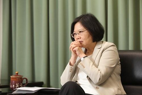 民進黨蔡英文主席背負著幾項原罪。 圖片來源:天下雜誌