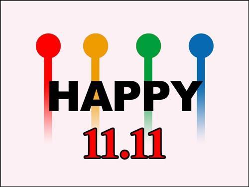 1111是光棍節,也創造巨大的網路商機。 圖片來源:品.生活 X 設計.家