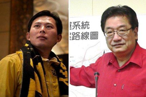 黃國昌與李慶華決戰立委。 圖片來源:雅虎奇摩新聞/風傳媒