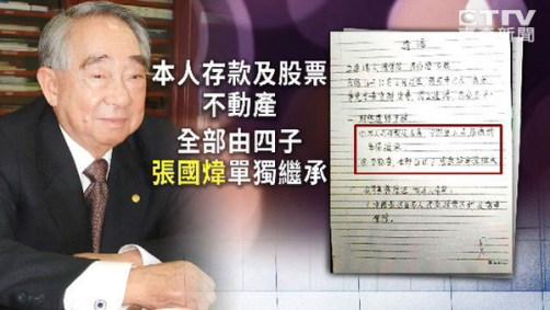 張榮發遺產爭奪案,成為近日熱門新聞。 圖片來源:東森新聞