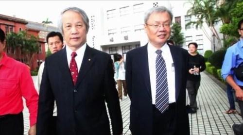司法院長賴浩敏與副院長蘇永欽,7/11向總統蔡英文提出書面辭呈。 圖片來源:自由時報