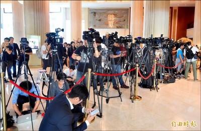 台灣媒體的素質影響社會甚鉅。 圖片來源:自由時報