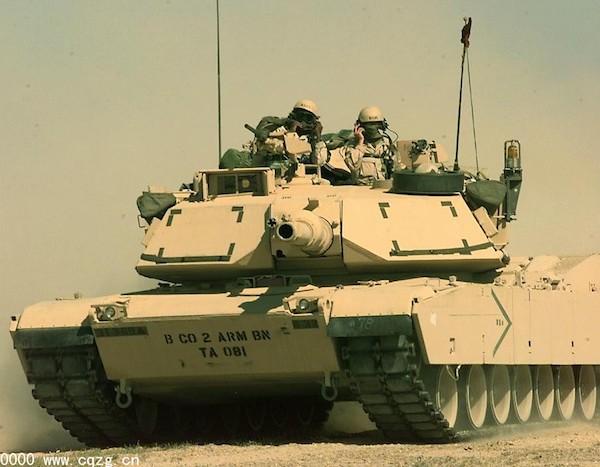 M1坦克。 圖片來源:華夏經緯