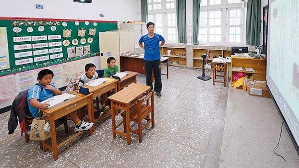 少子化情形已經漸漸出現在學校教育現場。 圖片來源:親子天下