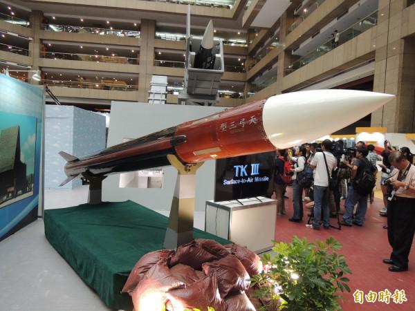 台灣一直有自製武器。 圖片來源:自由時報