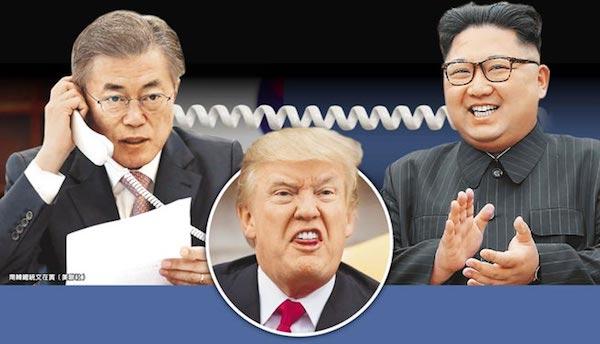 美國對於北韓問題深感頭痛。 圖片來源:中時電子報