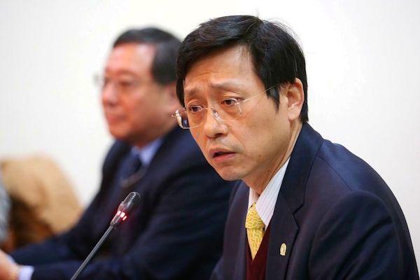 台大代理校長郭大維。 圖片來源:聯合新聞網