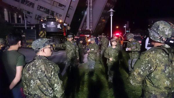 花蓮震災已投入大量人力物力進行救災及復原。 圖片來源:今日新聞