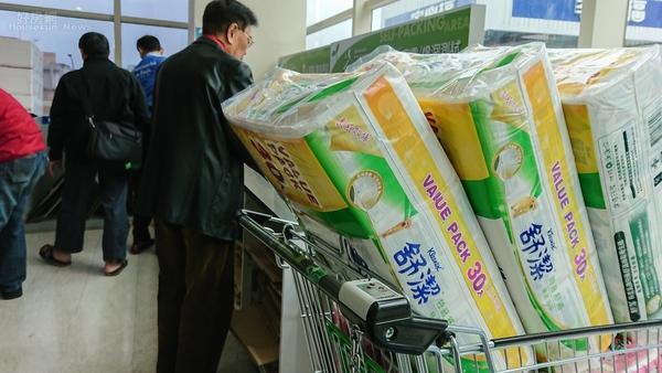 搶購衛生紙已是全民運動。 圖片來源:好房網