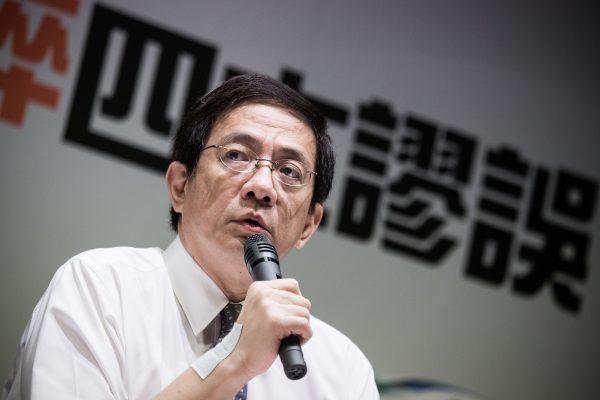 管中閔當選台大校長後風波不斷。 圖片來源:聯合新聞網
