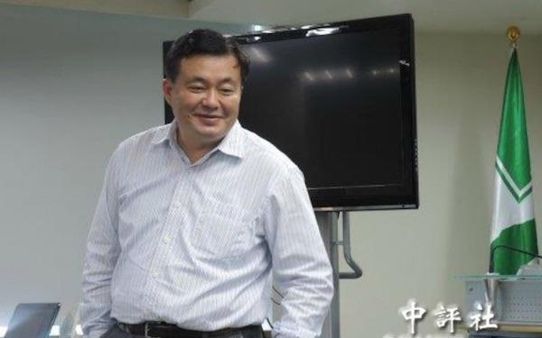 現任民進黨秘書長洪耀福。 圖片來源:中評社