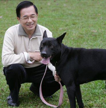 阿扁開設「新勇哥物語」臉書專頁。 圖片來源:中國評論新聞