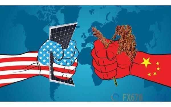 中美貿易戰持續開打。 圖片來源:新浪財經