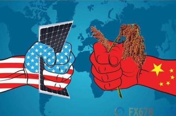 中美貿易戰持續進行中。 圖片來源:51新聞