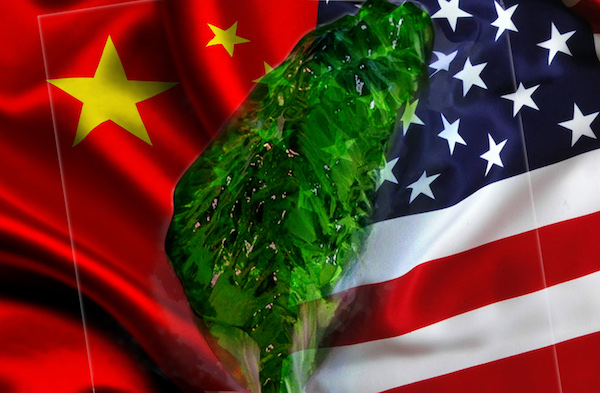 台灣是美中大國博弈的必爭之地。 圖片來源:鯨魚網站