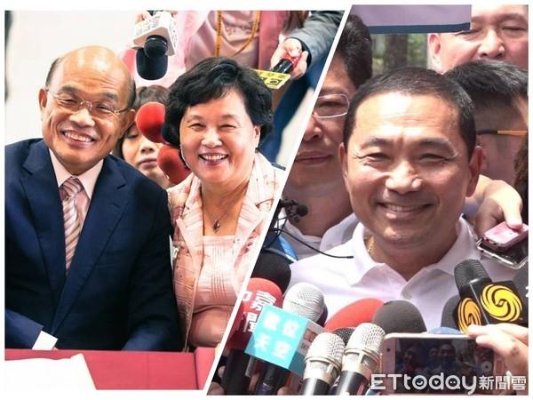 新北市長之爭,決定國民黨後續生機。 圖片來源:ETToday